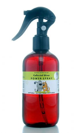 COLLOIDAL SILVER FOR PETS - REFILLABLE POWERSPRAY - 20PPM EFFECTIVE TRIGGER ACTION